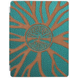 Tree of life  -Yggdrasil  - Embossed Faux Leather iPad Smart Cover