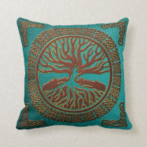 Tree of life  -Yggdrasil  - Embossed Faux Leather