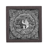 Tree of Life Yin Yang Gift Box