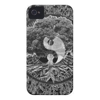 Tree of Life Yin Yang iPhone 4 Case-Mate Cases