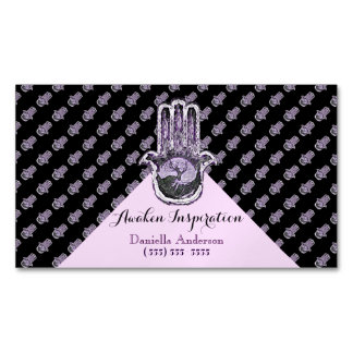Tree of Light and Dark (Purple) Magnetic Business Cards (Pack Of 25)