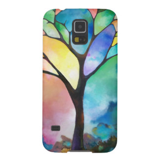 Tree of Light by Sally Trace Galaxy S5 Cases