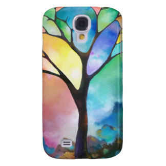 Tree of Light by Sally Trace Galaxy S4 Covers