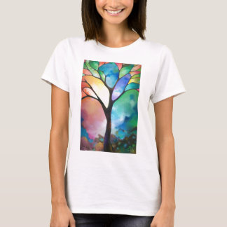 Tree of Light by Sally Trace T-Shirt