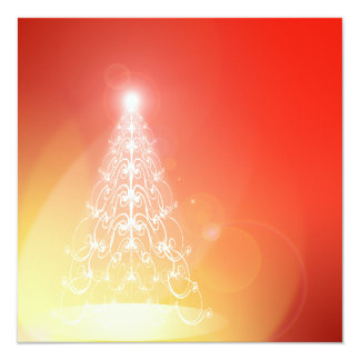 Tree Of Light Invitation