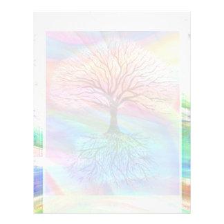 Tree of Light Peace Letterhead
