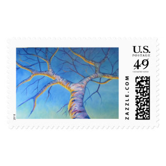 Tree Of Light Postage Stamps