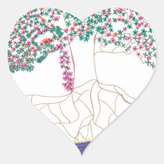 Tree of Light Heart Stickers