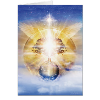 Tree of Light Wings Card