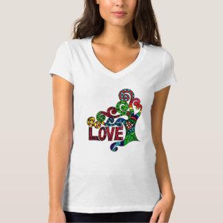 Tree of Love  - colourful hippie art print t-shirt