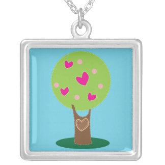 Tree of love custom necklace
