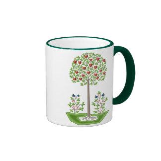 Tree of Love Ringer Mug