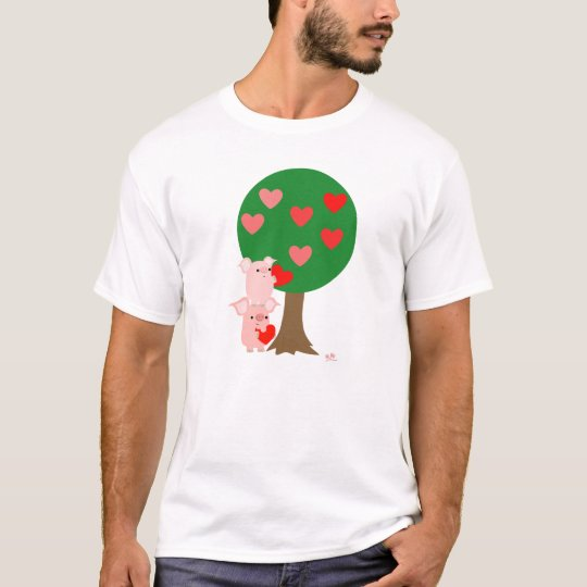 Tree of Love simple T-Shirt (design on the front)