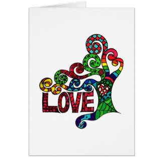 Tree of Love  - Valentine's Day greetings card
