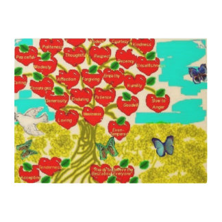 Tree of Love Wood Canvases