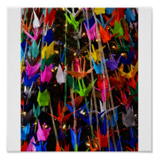 Tree Of many Colors Poster