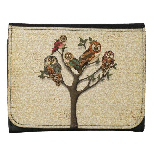Tree of Owls Wallet