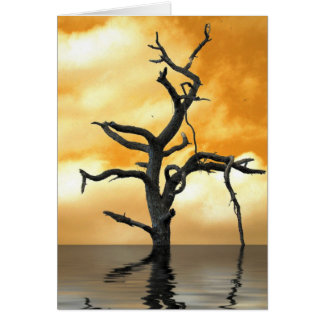 Tree of Pain Greeting Card