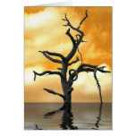 Tree of Pain Greeting Cards