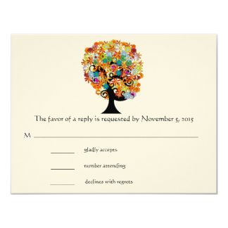 Tree of Promise -Whimsical Trees- RSVP Cards