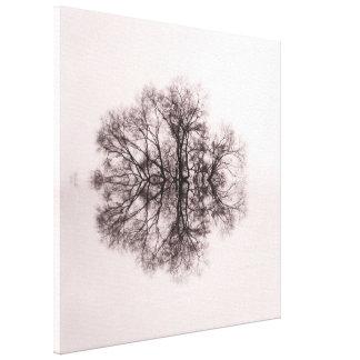 Tree of Reflection 2 Canvas Art Print Canvas Print