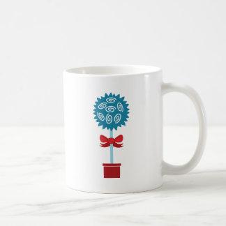 Tree of Roses with bow Coffee Mug