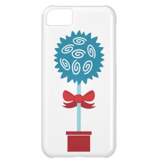 Tree of Roses with bow Cover For iPhone 5C