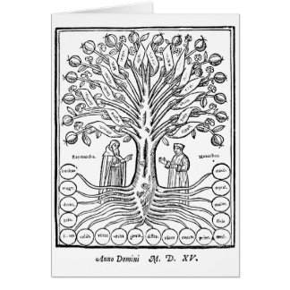 Tree of Science Card