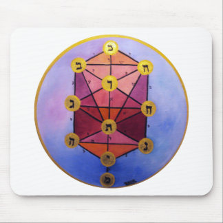 Tree of Sephirot Mouse Pad
