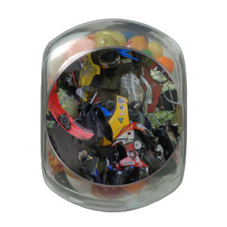 Tree of Shame Glass Candy Jars