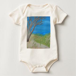 Tree of Solitude.jpg Baby Bodysuit