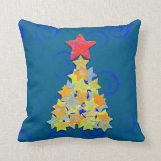 Tree of Stars Throw Pillow