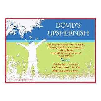 Tree of the field - Upshernish invitation. Card