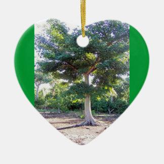 Tree of Wisdom-heart ornament