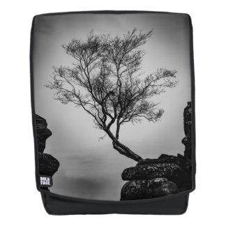 Tree on a Cliff Backpack
