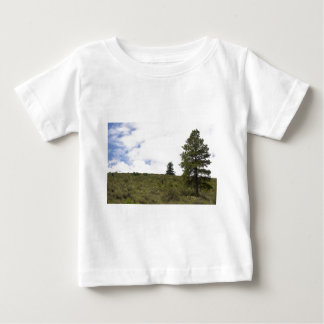 Tree on a Hill Baby T-Shirt