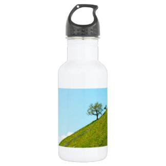 Tree on a Steep Hill Stainless Steel Water Bottle
