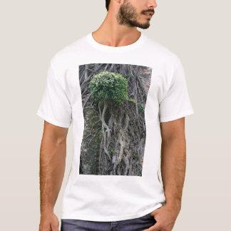 Tree on a wall, Anping Fort, Tainan, Taiwan T-Shirt