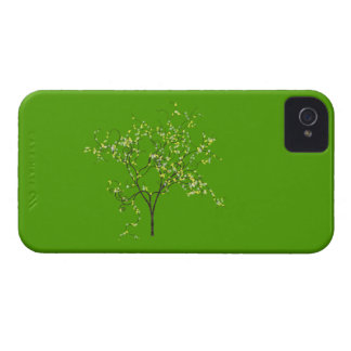 Tree on Green Background Case-Mate iPhone 4 Case