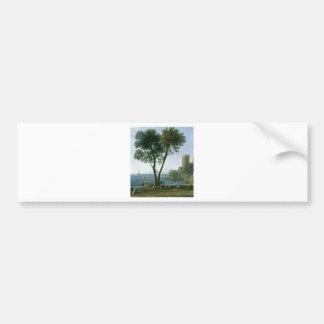 tree on the shore bumper sticker