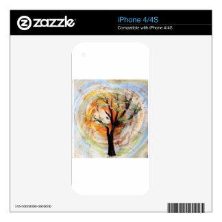 Tree on Tree iPhone 4 Skin