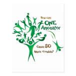 Tree One Ancestor Post Card