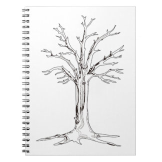 Tree Outline Notebook