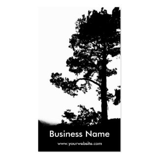 Tree Over Hill Double-Sided Standard Business Cards (Pack Of 100)