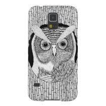 Tree Owl Case For Galaxy S5