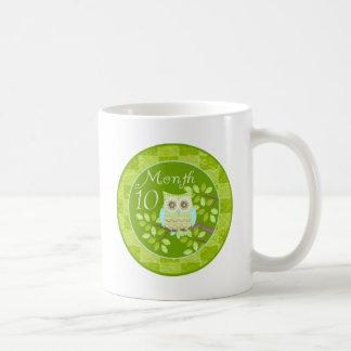 Tree Owl Milestone Month 10 Coffee Mug