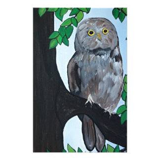 Tree Owl Stationery