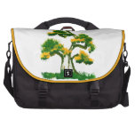 Tree Painting by Elephant Commuter Bag