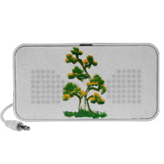 Tree Painting by Elephant Notebook Speakers
