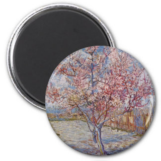 Tree Painting by Vincent Van Gogh Magnet